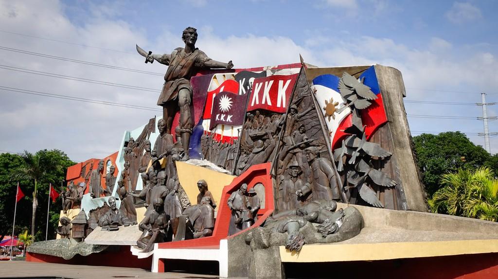Katipunan (KKK) Monument in Manila, Philippines