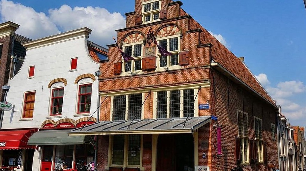 The weighing house in Oudewater where thirteen people accused of witchcraft were acquitted