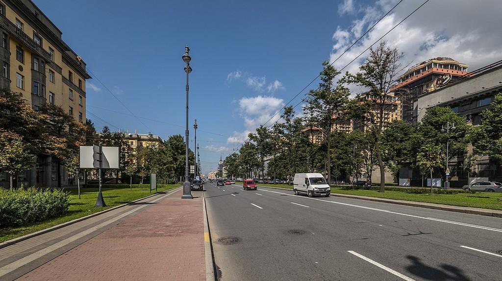Moskovsky Prospekt in St Petersburg   © A.Fedorov/Wikimedia Commons