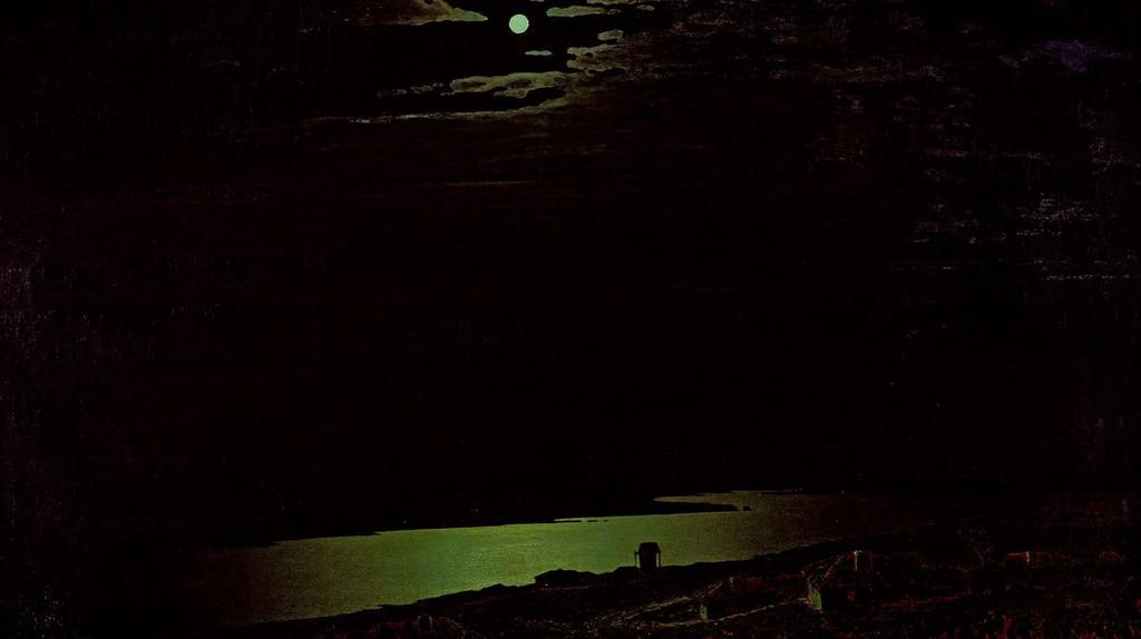 Arkhip Kuindzhi, 'Moonlight Night on the Dniepr', 1880