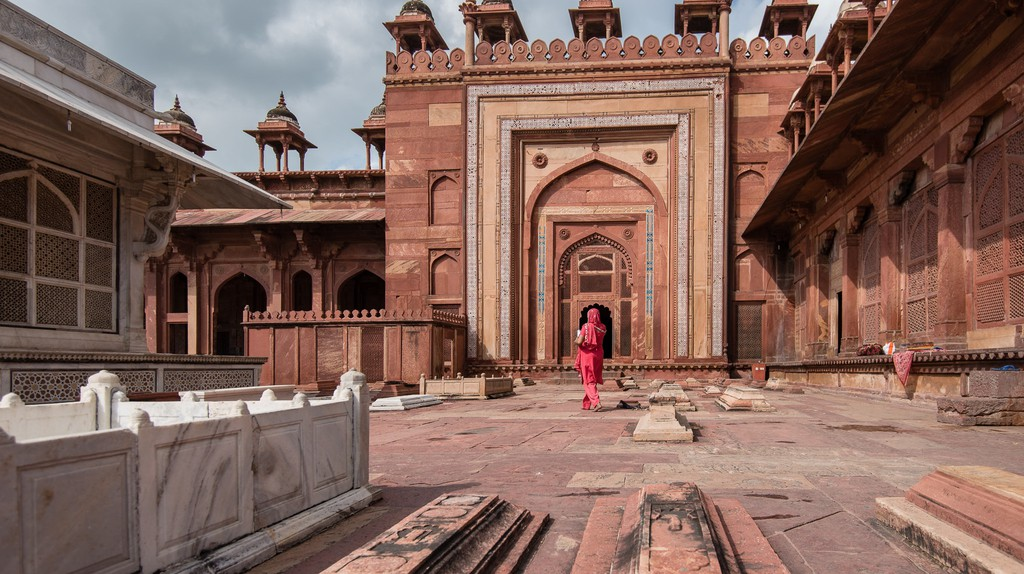 Fatehpur Sikri is a popular attraction in Agra along with the Taj Mahal