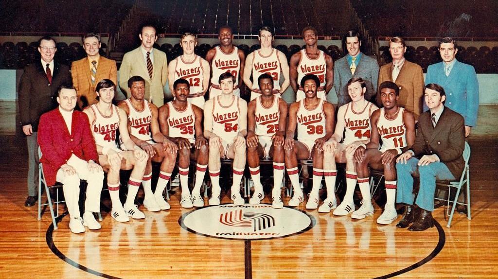 The 1970-71 Portland Trail Blazers team