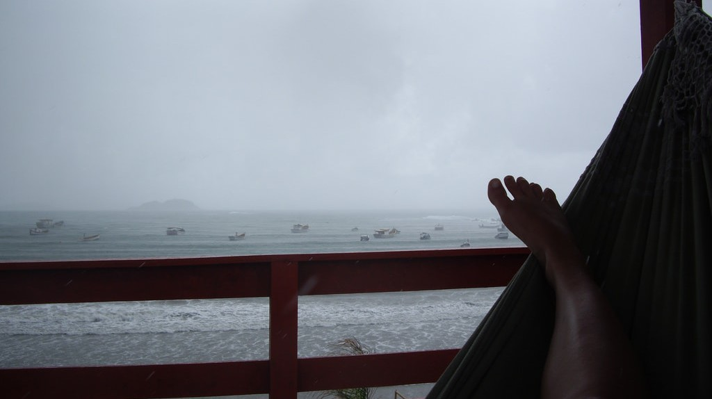 Rainy Floripa day