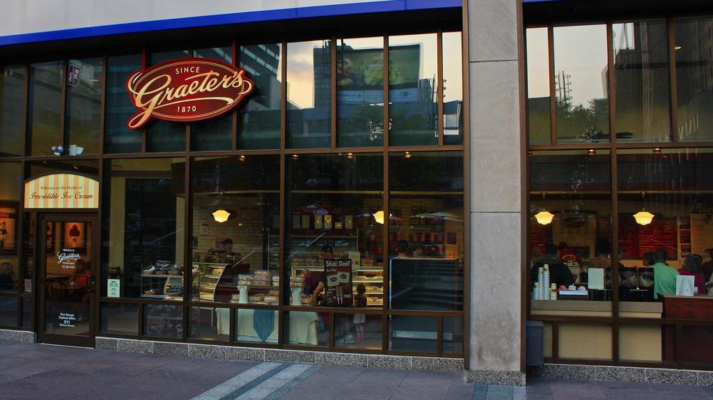 A Graeter's shop in Cincinnati