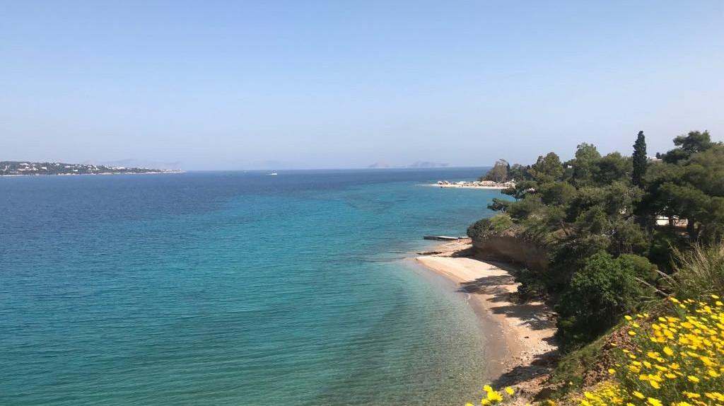 Spetses island in Greece