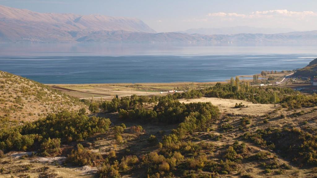 A beautiful view of Ohrid Lake
