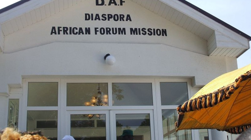 Diaspora African Forum ( DAF), an African Union (AU) initiative officially launched in 2005