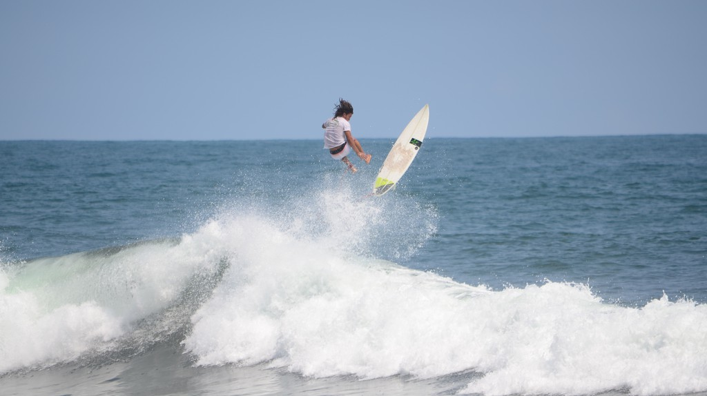 Surfing in El Salvador