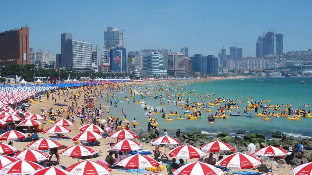 Haeundae Beach, Busan   © Yuseok Oh / Flickr