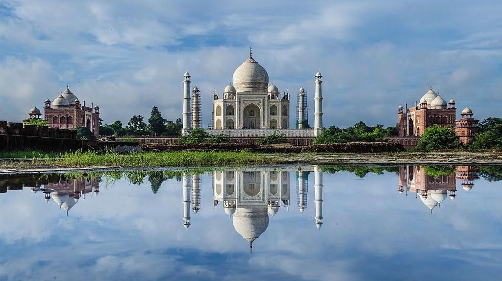 Taj Mahal, an iconic symbol of love