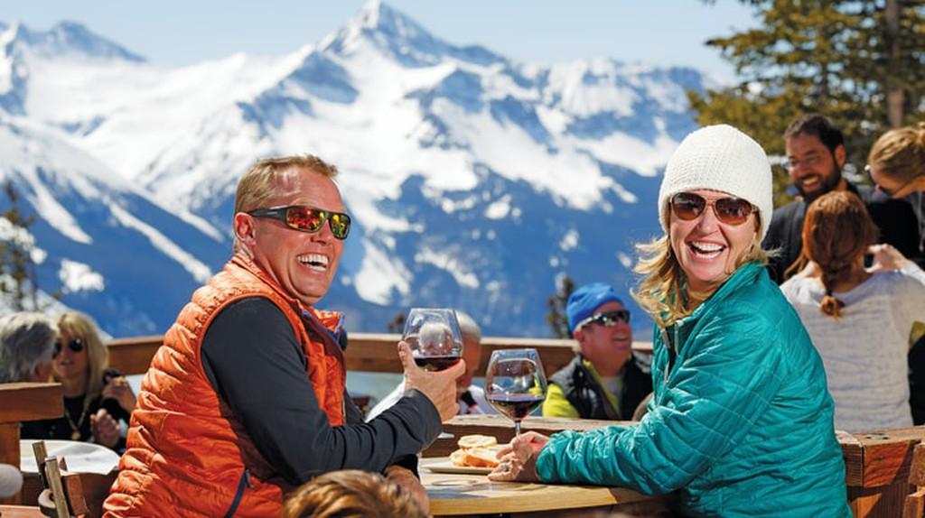 Alpino Vino is the highest restaurant in North America, providing a unique dining experience at the Telluride Ski Resort.
