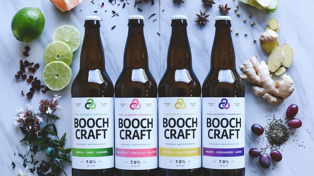 Boochcraft's four core flavors.
