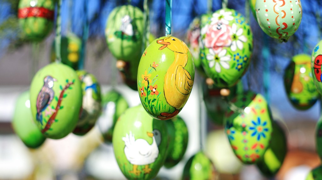 Danish traditions, Easter Eggs