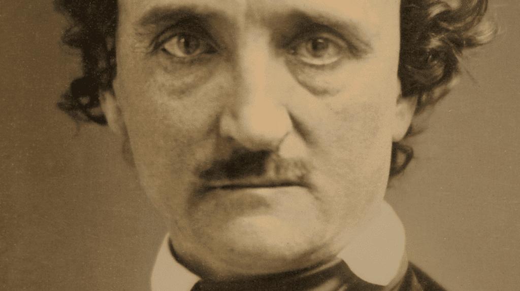 "Daguerreotype of Edgar Allan Poe, known as the ""Annie"" Daguerreotype."