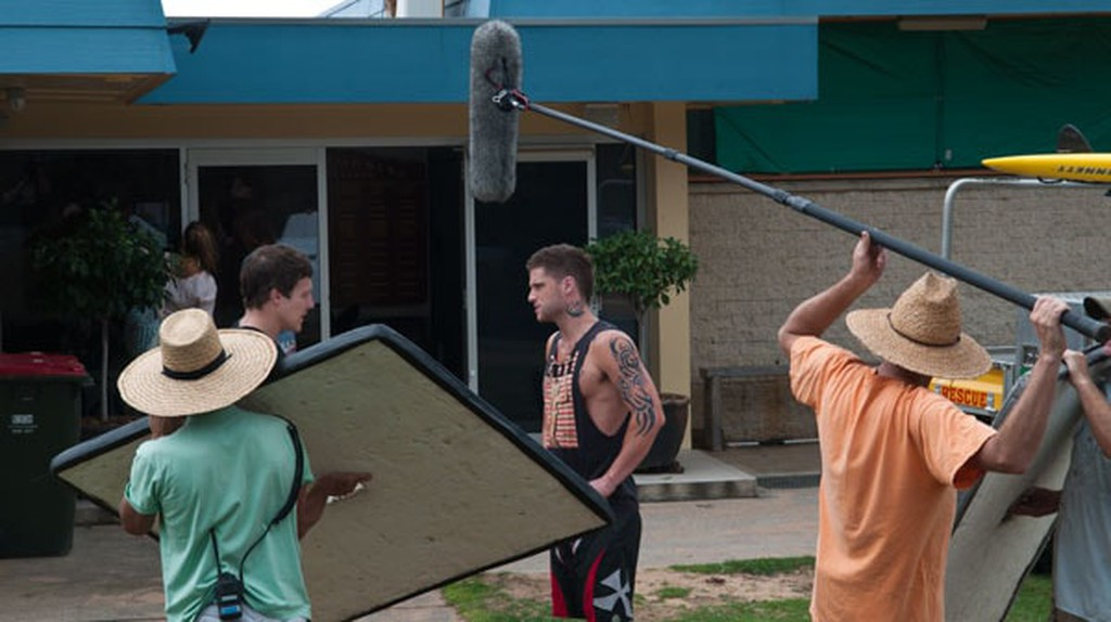 Filming of the popular Australian soap opera Home and Away