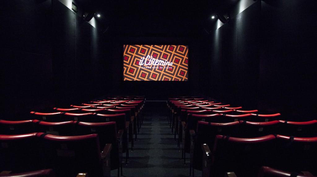 The screening room at Il Cinemino in Porta Romana, Milan | © Carlo Prevosti / Courtesy Il Cinemino