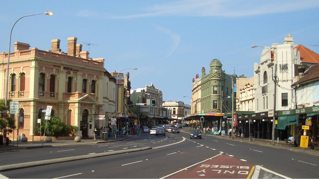 The bustling streets of Newtown is the gateway into the heart of Sydney