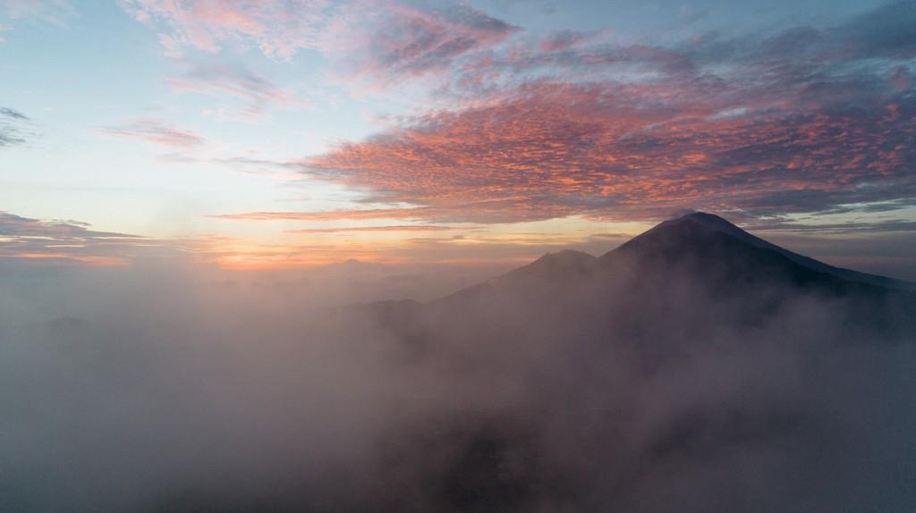Mount Batur is increasing in popularity
