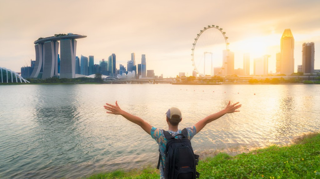 Backpacking in Singapore