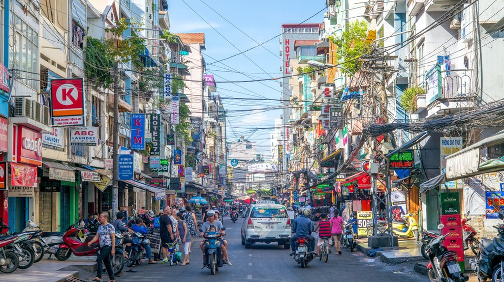 The manic streets of Ho Chi Minh