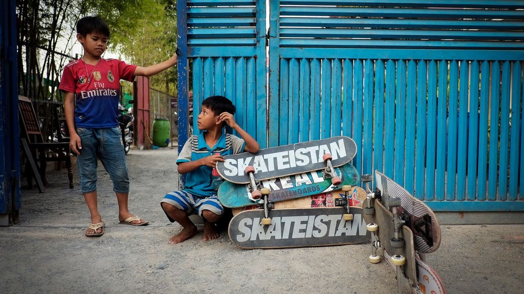 Skateistan is the amazing NGO empowering young people through skateboarding