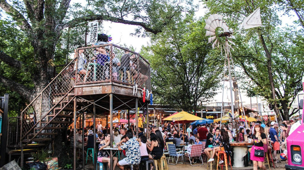 Lower Greenville has plenty of happening spots like Truck Yard, a restaurant, bar, and stellar food truck patio.