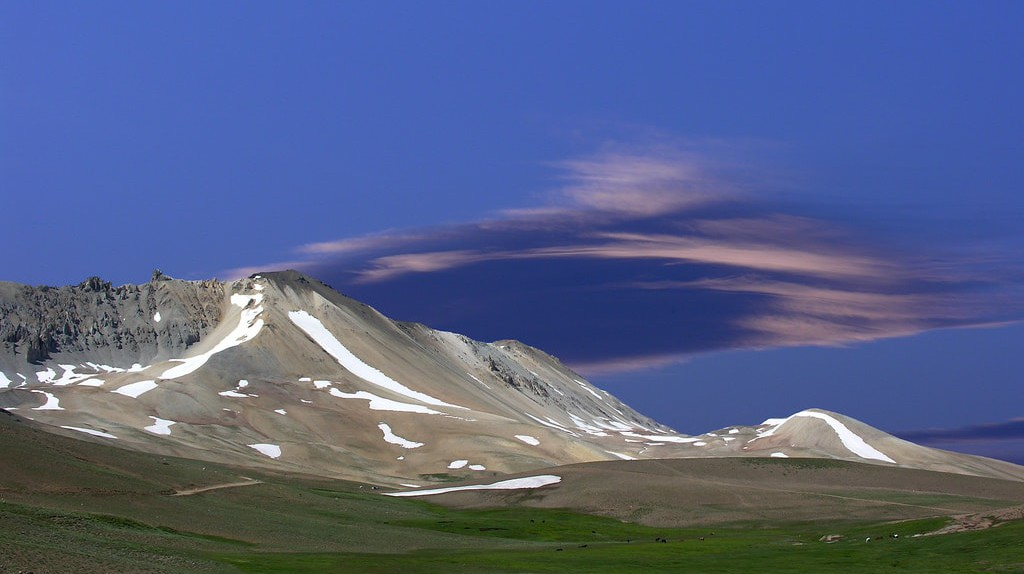 The mountains of Mendoza