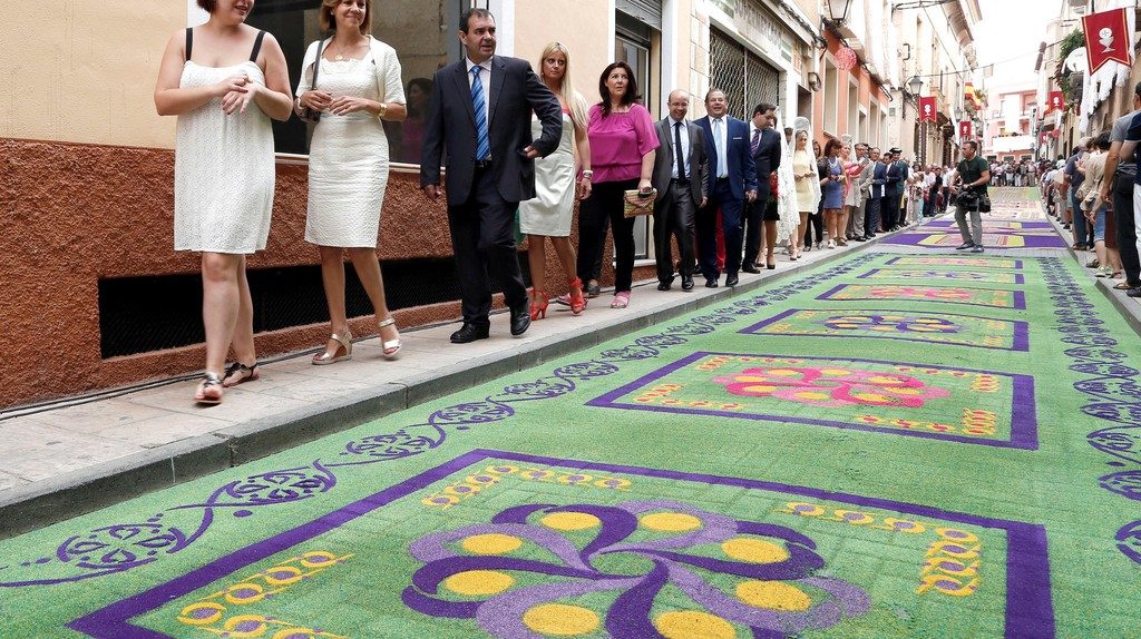 Corpus Christi celebrations in Spain