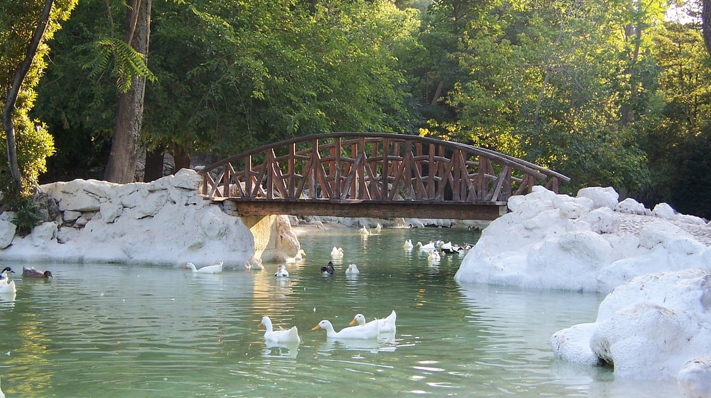 The Nation Garden in Athens is one of the most romantic spots in the capital