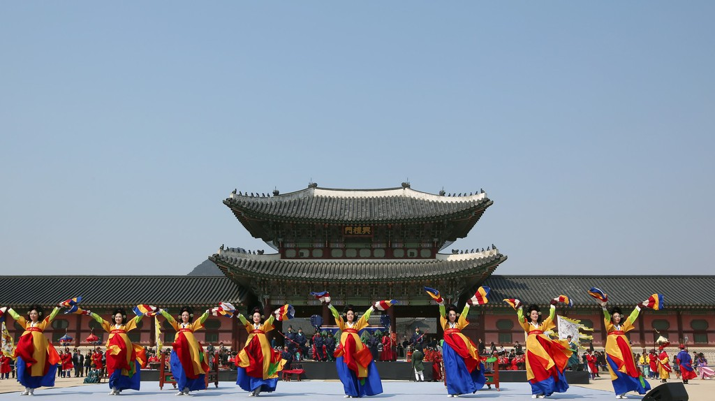Royal Guard Appointment Ceremony at Gyeongbokgung Palace | © KoreaNet / Flickr