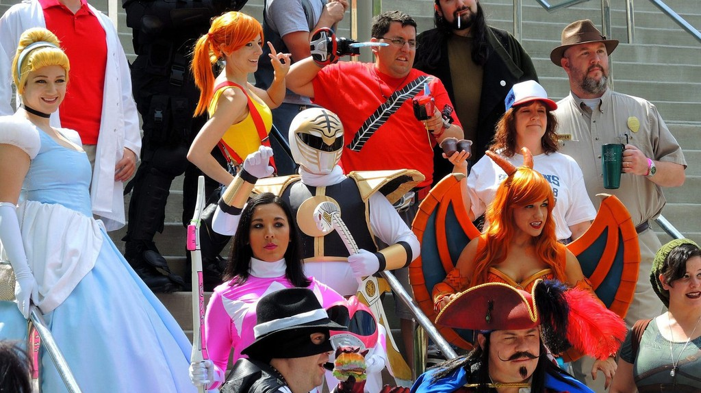 Cosplayers at Baltimore Comic-Con