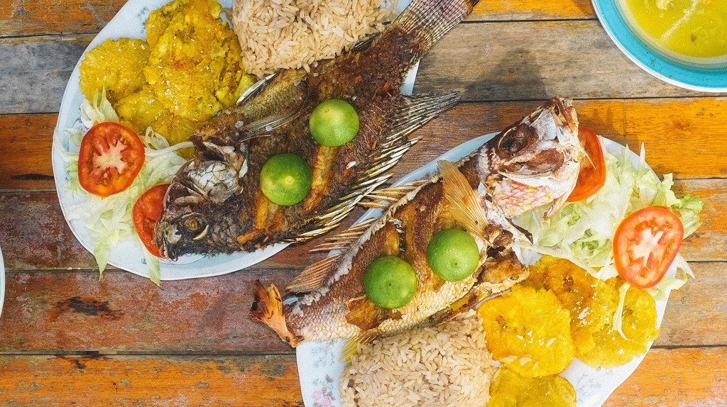 Colombian Caribbean food | © Eddy Milfort / Flickr