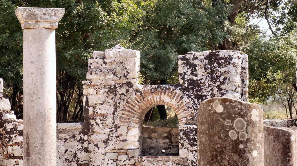 The ancient ruins of Butrint