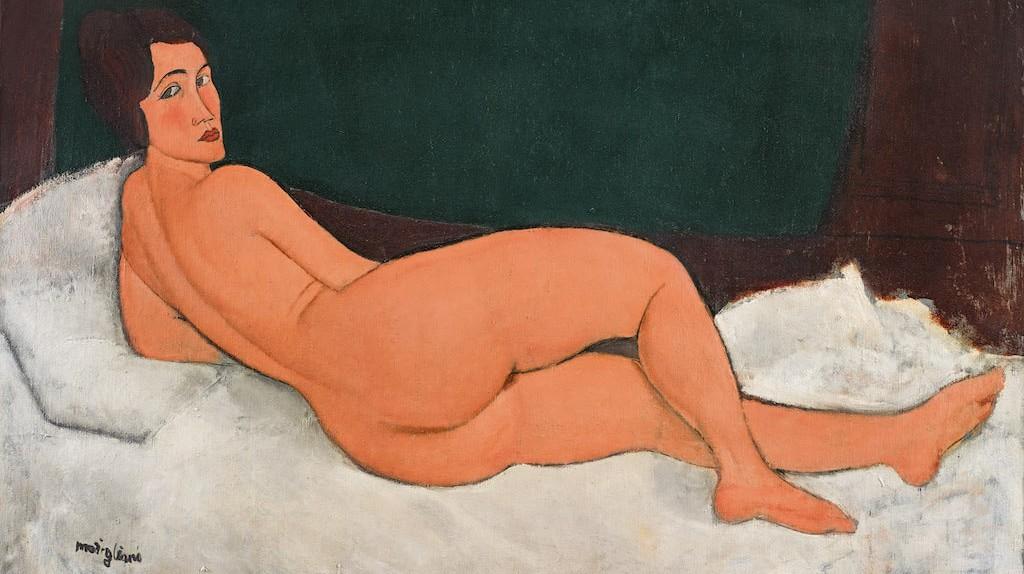 Amedeo Modigliani, 'Nu couché (sur le côté gauche),' 1917