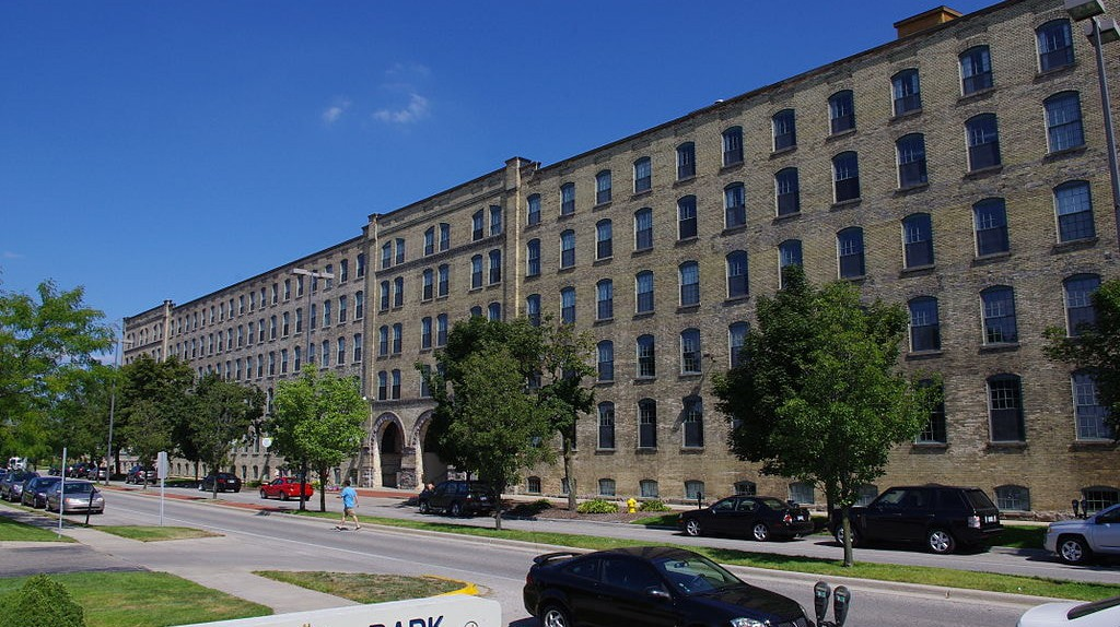 The Berkey and Gay Furniture Company Factory first opened in the 1870s