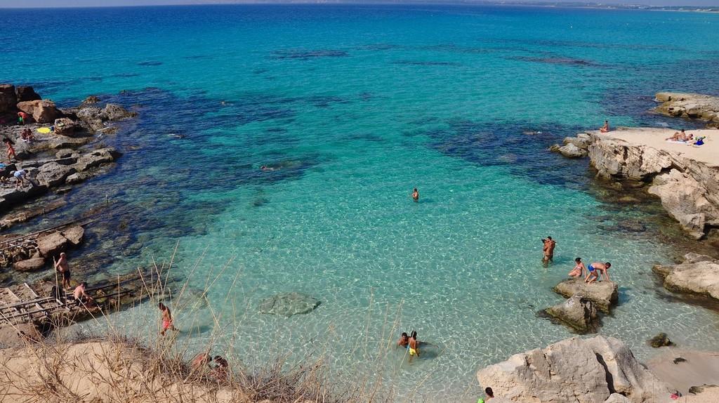 Calo des Mort in Formentera