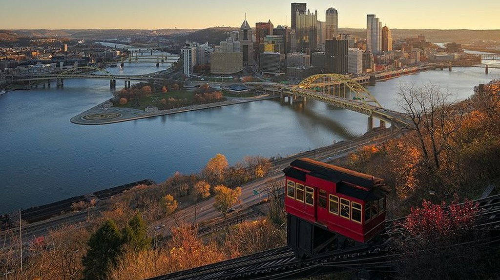 View of downtown Pittsburgh | © Dllu / Wikicommons
