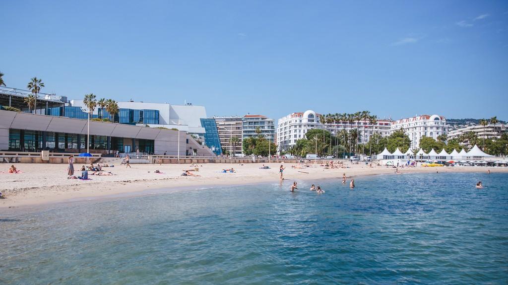 Public Beach, Cannes, France