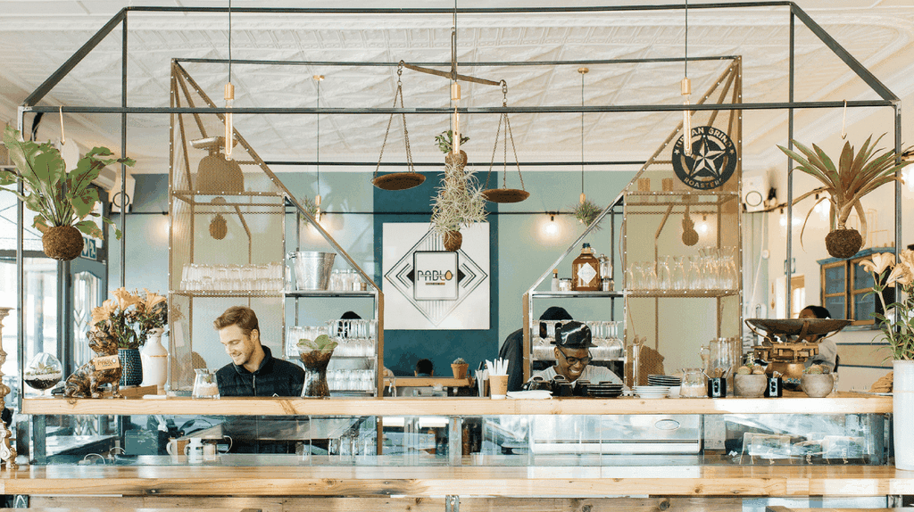 Melville is filled with trendy eateries, like all-day breakfast joint Pablo-Eggs-Go-Bar