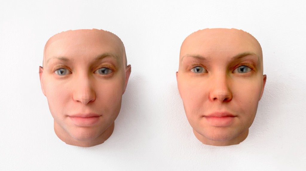 Radical Love, DNA portrait of  Chelsea Manning, by Heather Dewey-Hagborg