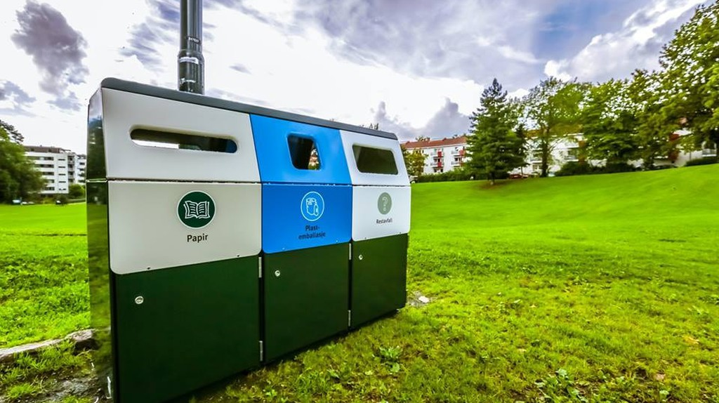 Recycling units in Norway