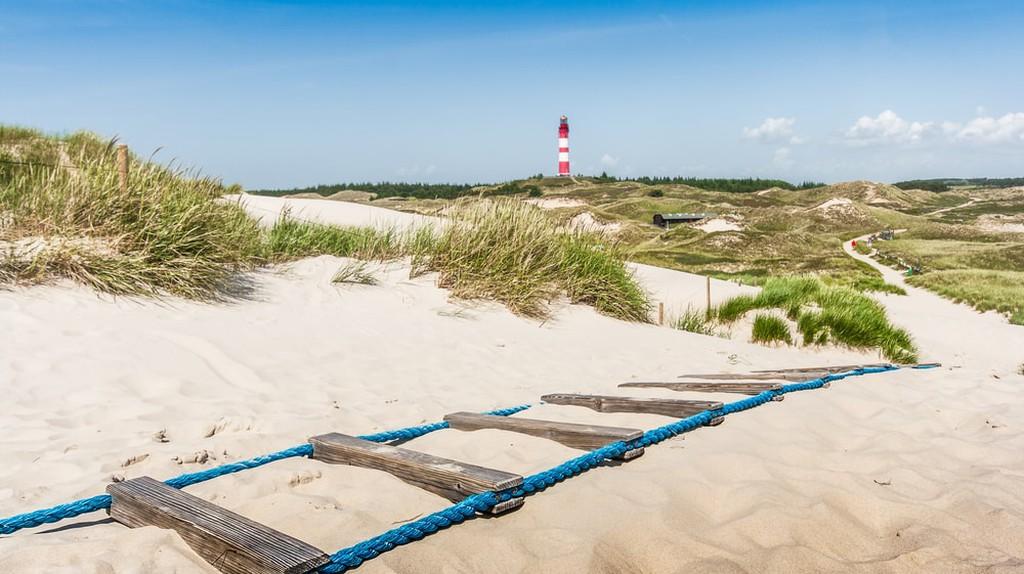 Island of Amrum at North Sea, Schleswig-Holstein, Germany