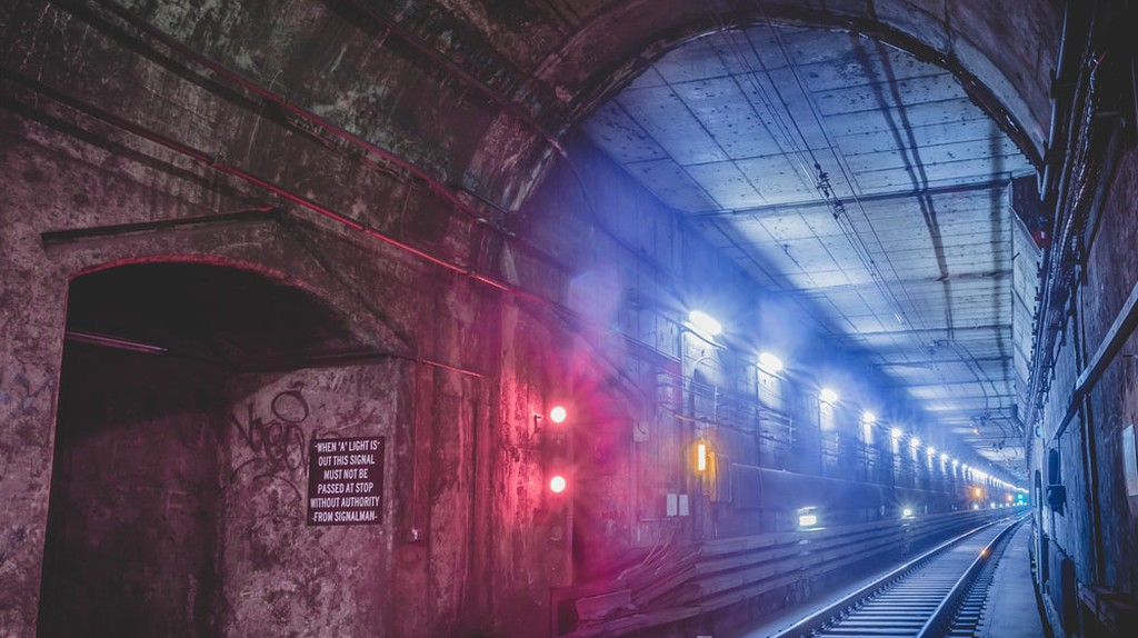 The underground tunnels of Sydney