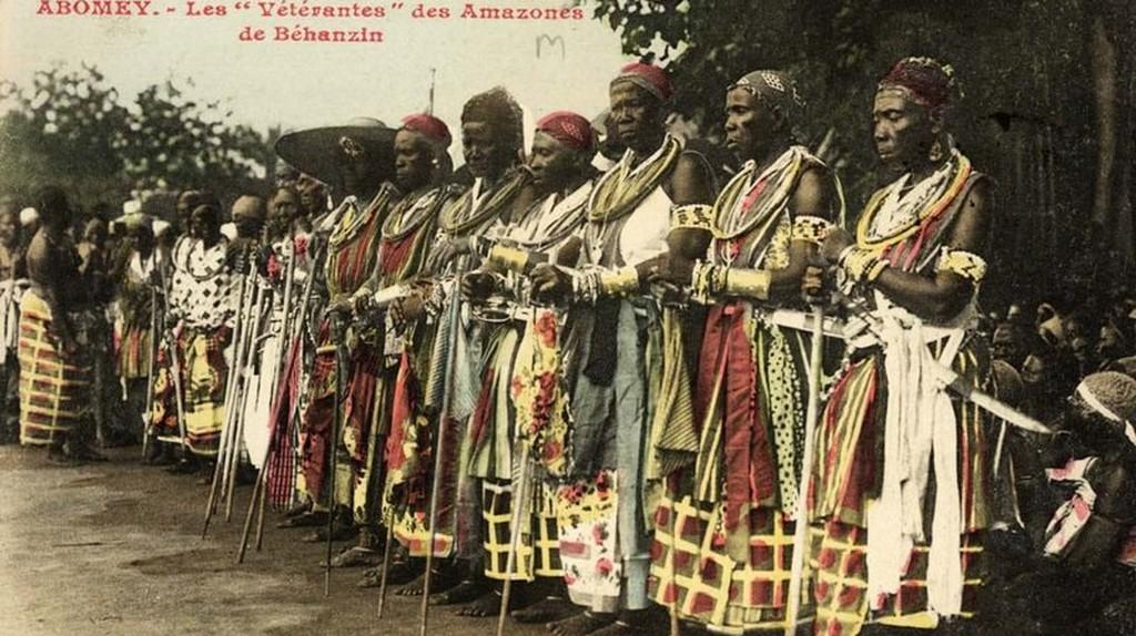 Veteran Amazons at Abomey