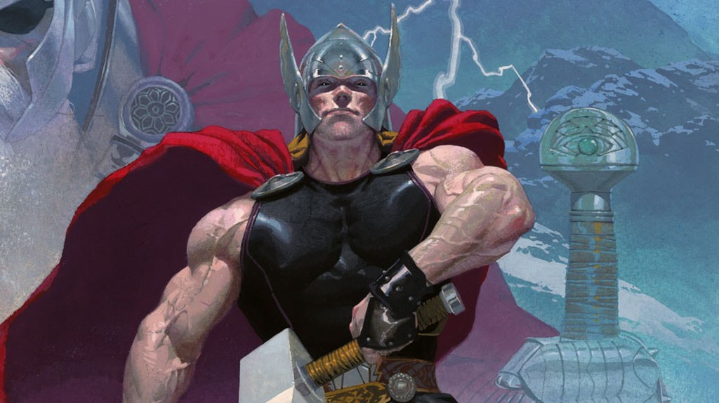 Thor as depicted in the Marvel comics