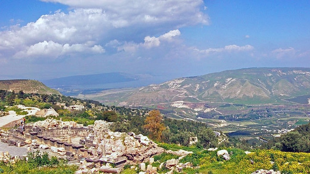 Um Qais and Golan Heights