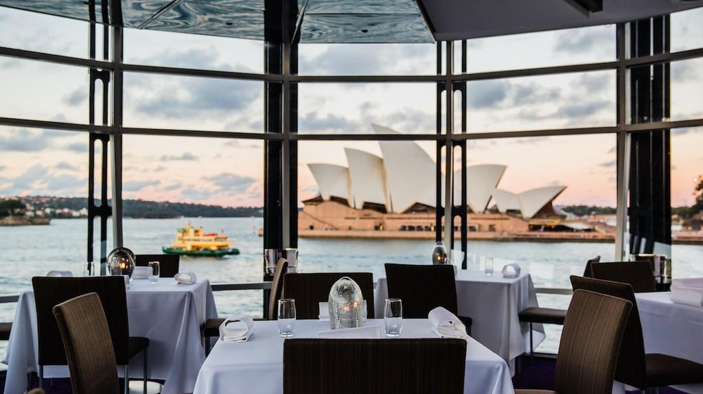 View from the Quay dining room