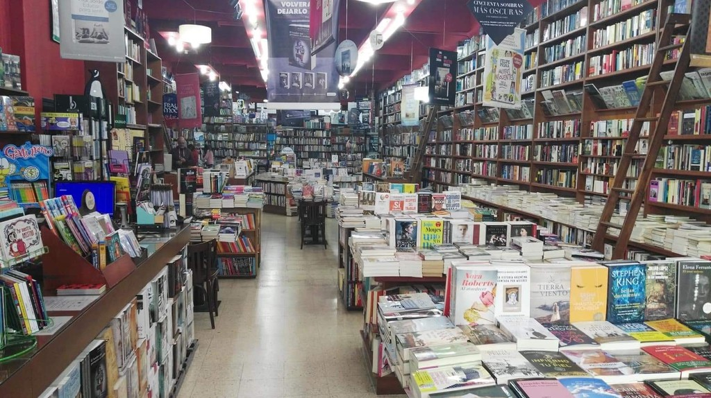 Fray Mocho is a bookstore in the city center