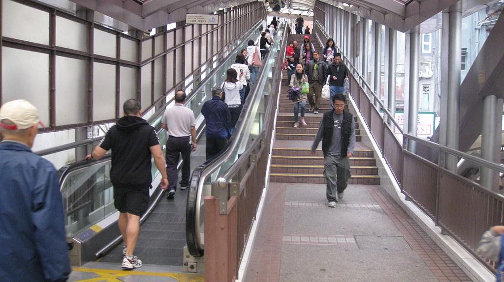Ride the World's Longest Escalator in Hong Kong