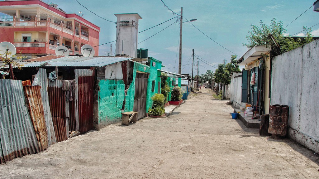 The streets of Brazzaville